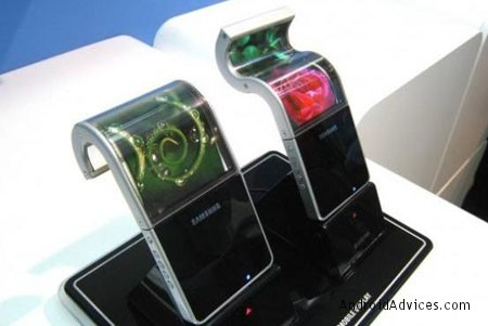 samsung flexible screen