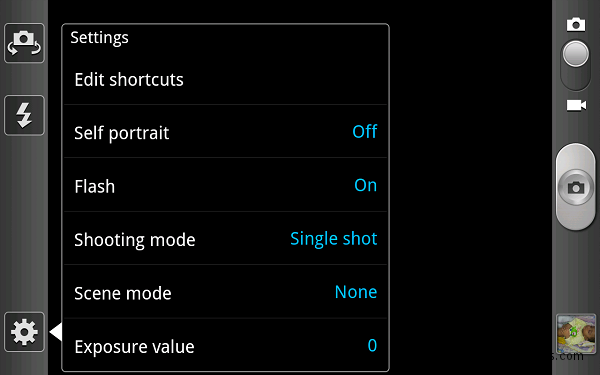 samsung galaxy note camera settings