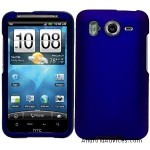 Blue Durable Protective Rubberized Crystal Hard Case Cover
