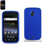 Blue Silicone cover case