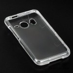 Clear Transparent Sleeve Faceplate Cover Case