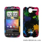 EMPIRE Paint Splatter Design Snap-On Cover Case