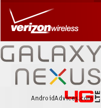 Galaxy Nexus 4G LTE Logo New