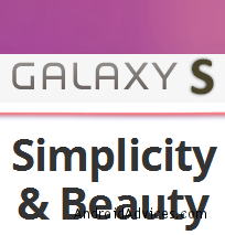 Galaxy S ICS New logo