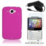 HOT PINK SOFT SILICONE SKIN CASE COVER