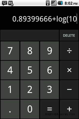 ICS Calculator