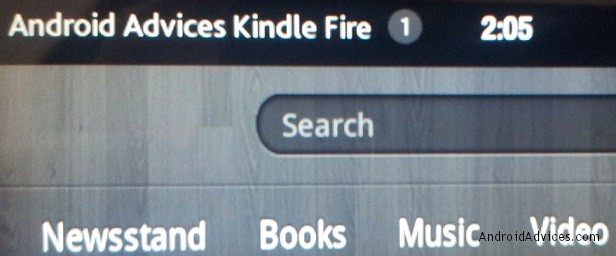 Kindle Fire Device name