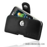 Pdair P01 Black Leather Case