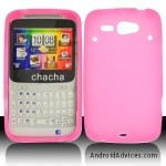 Pink Soft Silicon Skin Case Cover