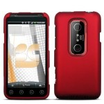 Red Rubberized Hard Phone Cover