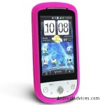 Silicone Skin Case Hot Pink