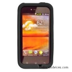 Silicone Skin Soft Phone Cover - Black
