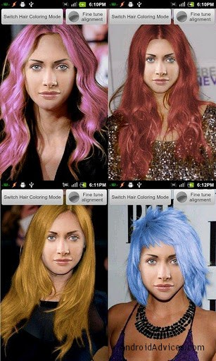 try different celebrity hairstyle on your face with android app android advices. Black Bedroom Furniture Sets. Home Design Ideas