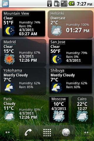 7 best weather apps widgets for android phones tablets android world weather world weather world weather features of world weather clock widget android application gumiabroncs Image collections