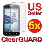 5x Premium Invisible Clear LCD Screen Protector Cover