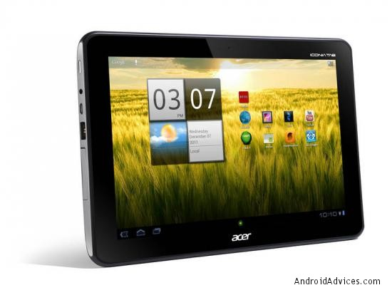 Acer A200 tablet