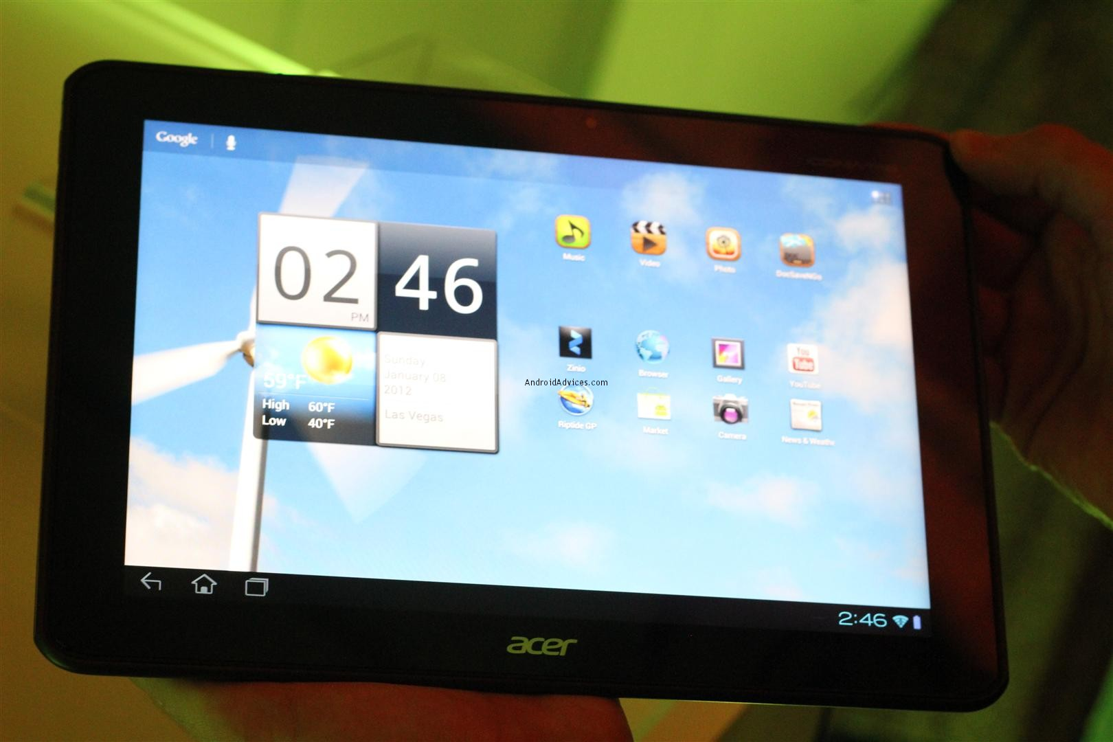 Acer A700 tablet