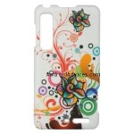 Autumn Flowers Hard Case Snap On Faceplate Cover
