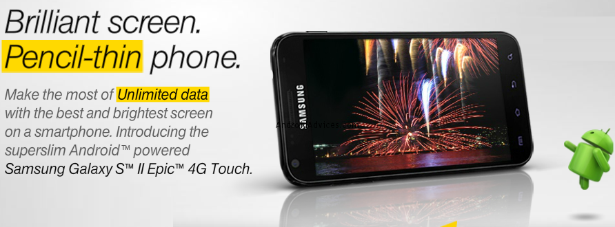 Banner Epic 4G Touch