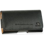 Black Napa Leather Case Pouch