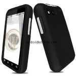 Black Rubberized Hard Case