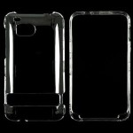 Clear Transparent Rubberized 2 Piece Case Cover