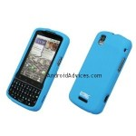 EMPIRE Light Blue Rubberized Snap-On Cover Case
