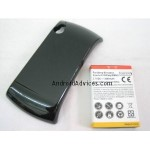 Extended Capacity 3600mAh Li-Ion Battery + Battery Door Cover