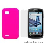 GTMax Hot Pink Soft Skin Rubber Silicone Case