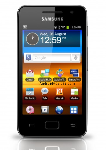 Samsung Galaxy Music Player 36 YP GS1 Launched Specs