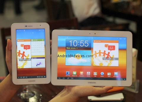 Galaxy Tab 10.1 & 7 Plus
