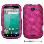 Hot Pink Crystal Bling Diamond Protector Case