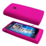 Hot Pink Silicone Case Cover