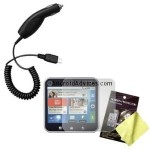 LCD Screen Protector & Car Charger