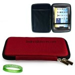 Perfect Fit Archos 70 Case Cover ( Ruby Red )