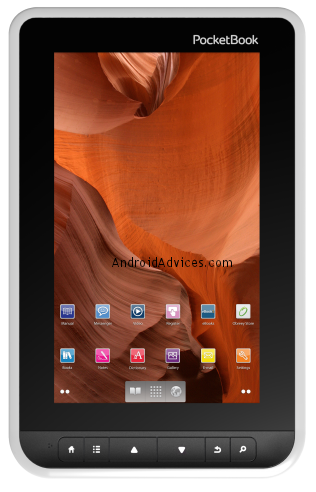 PocketBook Android tablet