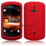 RED SILICONE SKIN CASE