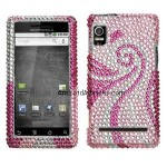 Reinforced Diamond Phone Cover Case Phoenix Tail