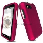 Rose Pink Rubberized Hard Case