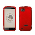 Rubberized Hard Case Cover - Red