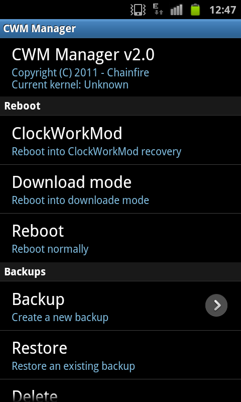 ValuePack Update for Samsung Galaxy S with Face Unlock I9000 XXJVU 2.3.6