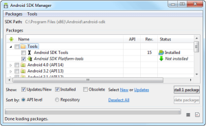 SDK MANAGER