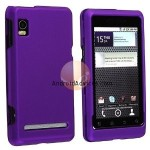 Snap-on Rubber Coated Case Dark Purple