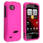 Snap-on Rubber Coated Case Hot Pink