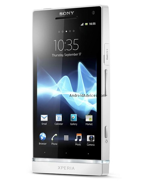 Sony Xperia S phone front