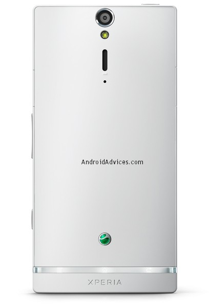 Sony Xperia S phone white