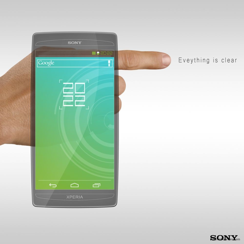 Sony Xperia ice cream sandwich