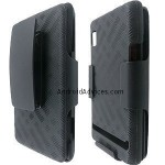 Superior Rubberized Hard Shell Case with Holster