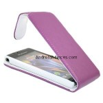 iTALKonline PURPLE Vertical Flip Pouch Case Cover