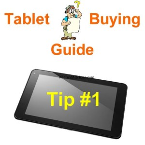 Tablet buy guide